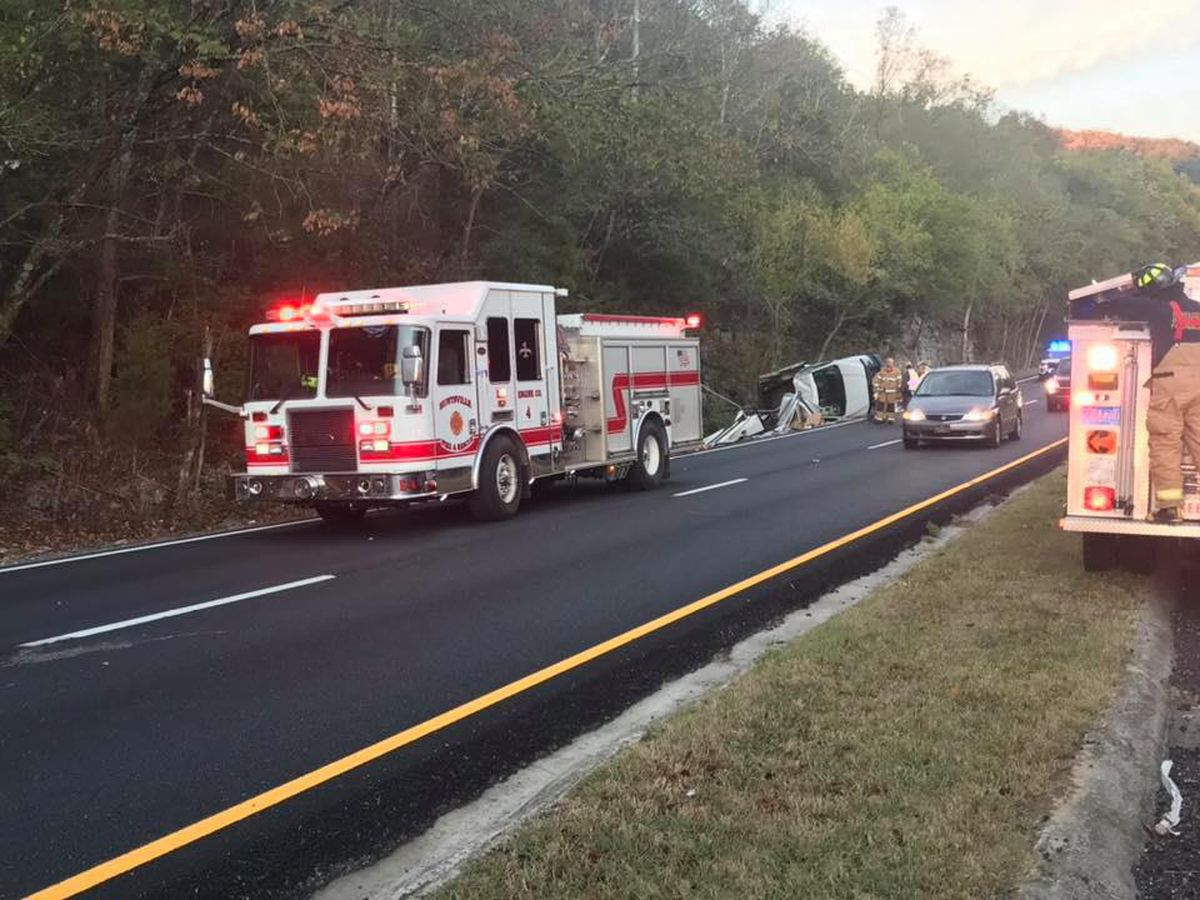 Wreck near Monte Sano Blvd impacting traffic in both directions