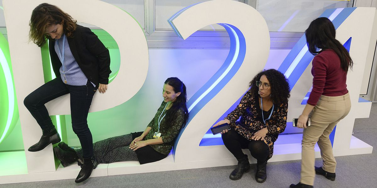 The Latest: UN Secretary-General returns to climate talks