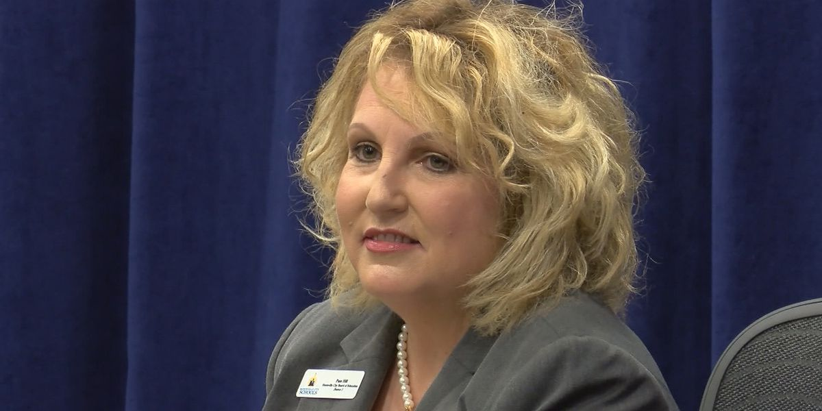 Huntsville school board member Pam Hill is resigning