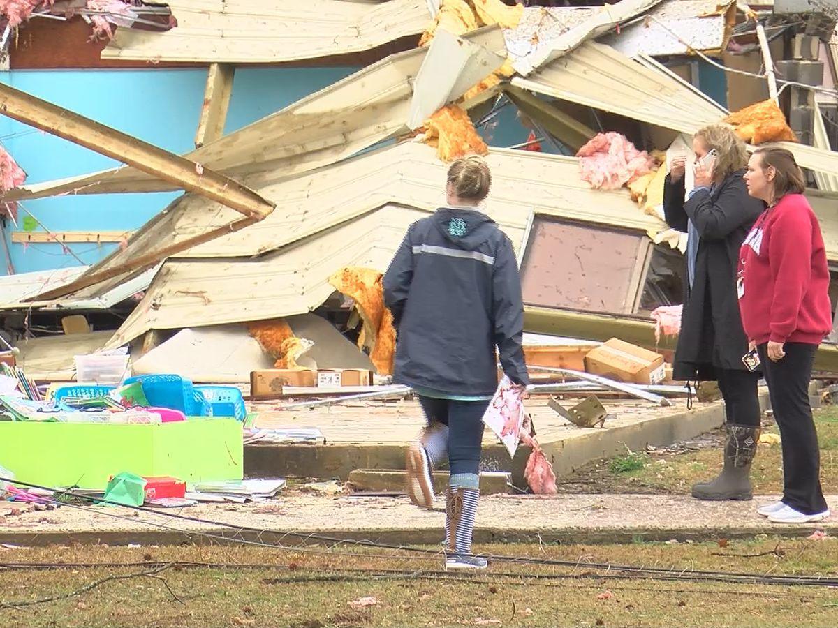 National Weather Service confirms EF-2 tornado hit Brindlee Mountain School