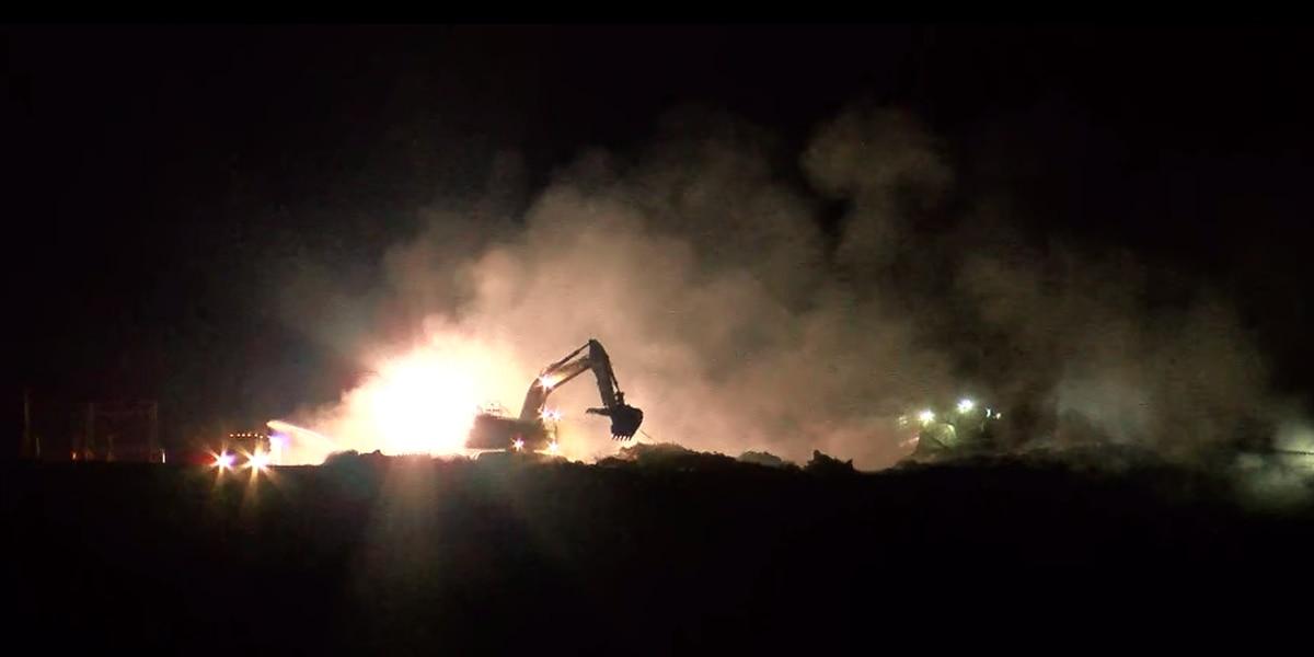 Fire near Huntsville landfill under control