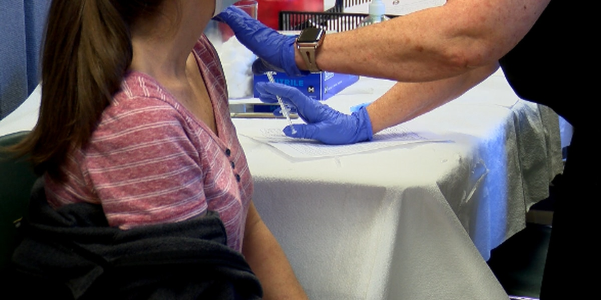 500 people vaccinated, 300 had appointments at Madison Co. Health Dept.