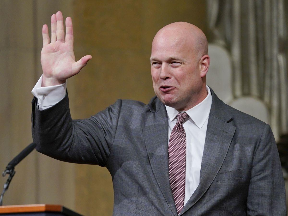 Democratic senators sue over Whitaker's appointment as AG