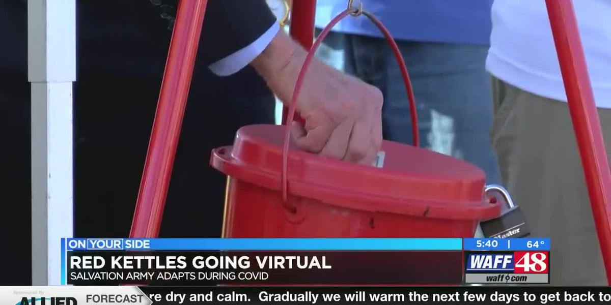 Salvation Army Red Kettle goes virtual in 2020