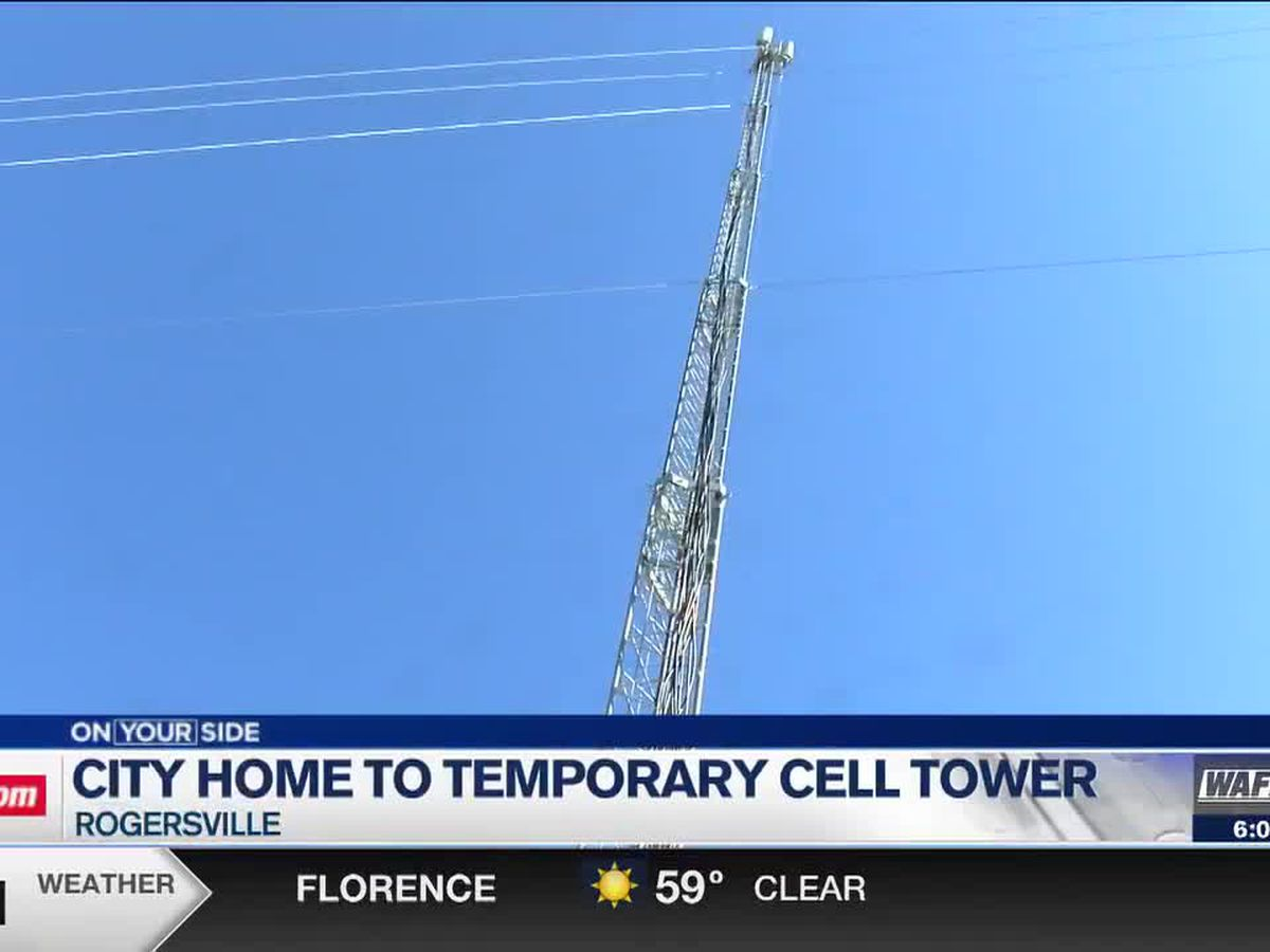 Rogersville has new temporary cell phone tower after community bands together for better internet service