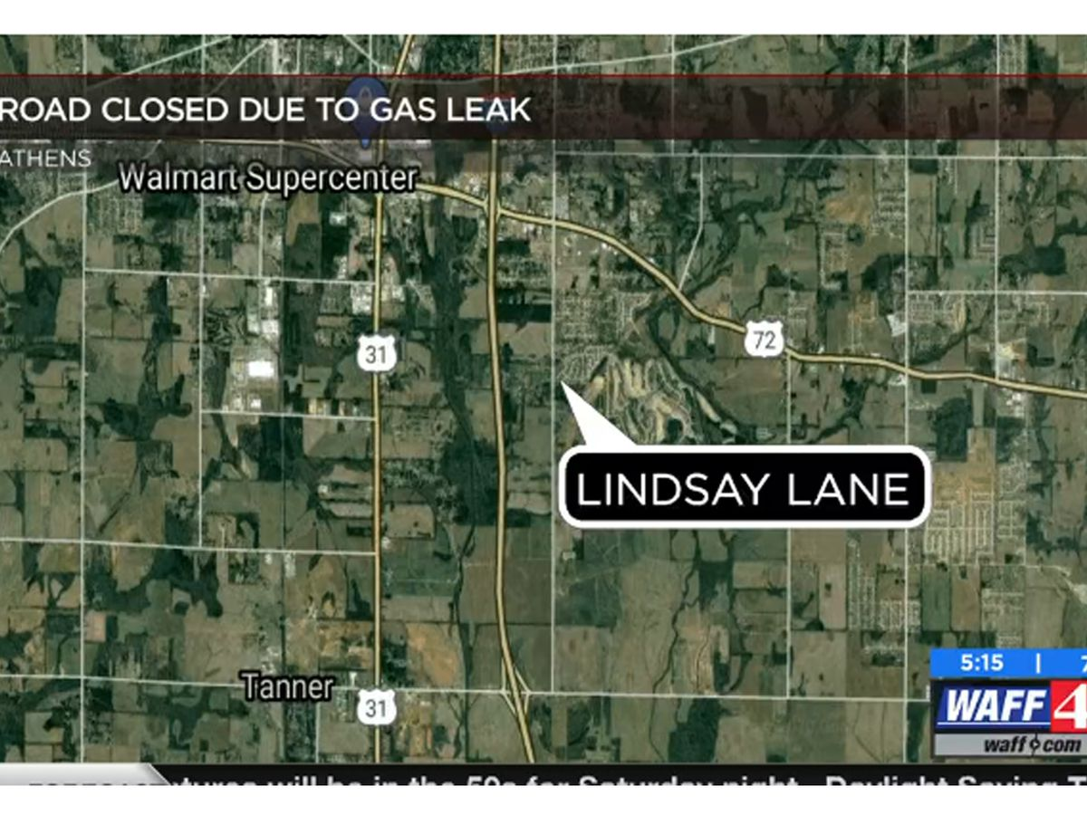 Gas leak at Lindsay Lane in Athens; Expect traffic delays