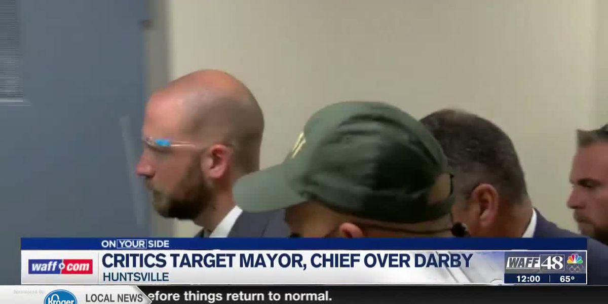Critics target Mayor, Chief on Darby response