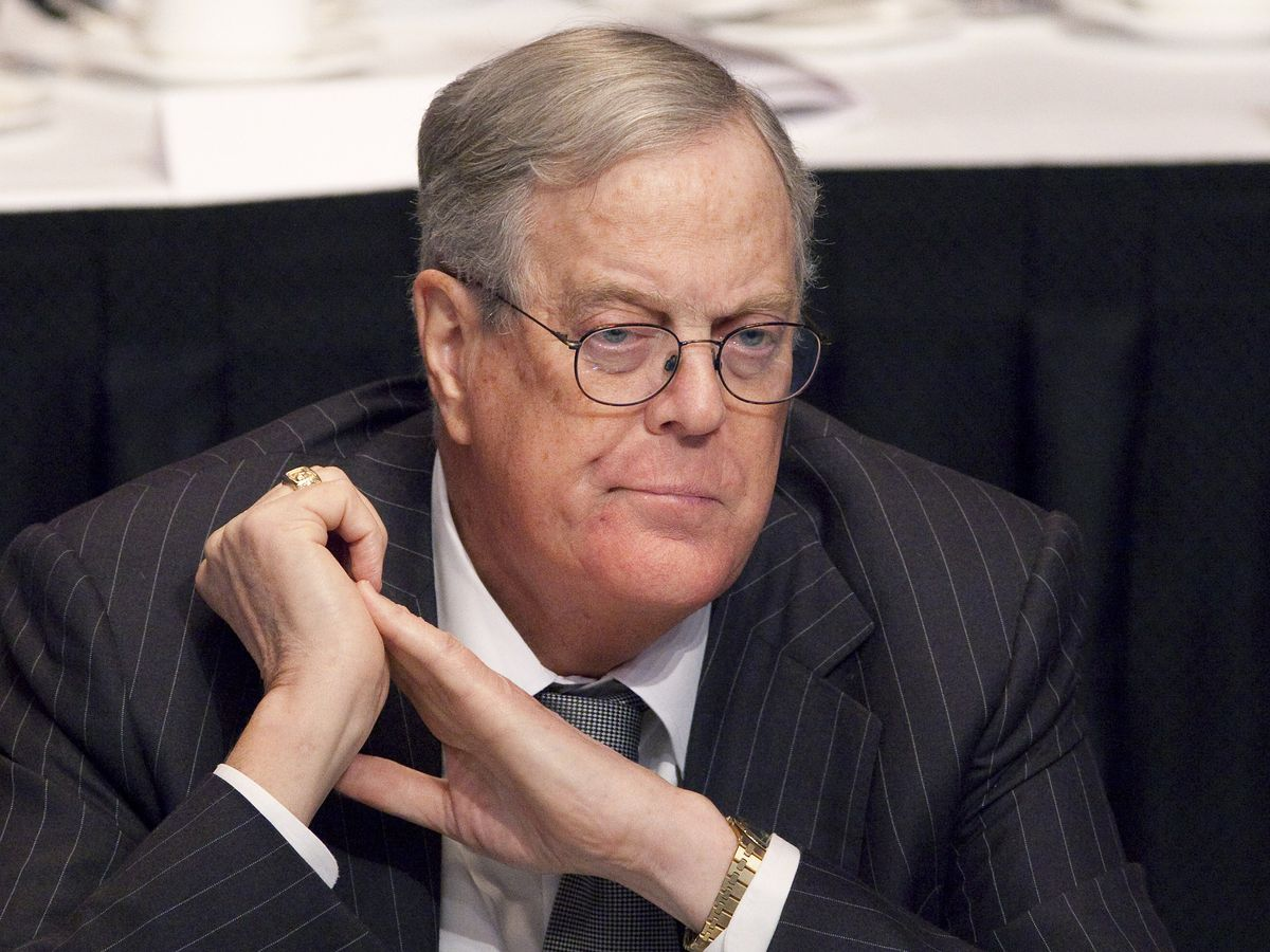 Billionaire conservative donor David Koch dies at 79