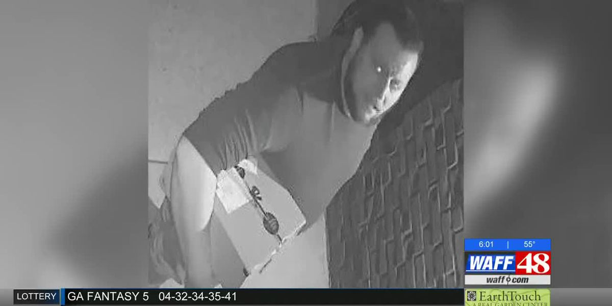 Authorities hoping to locate porch package thief in Madison County