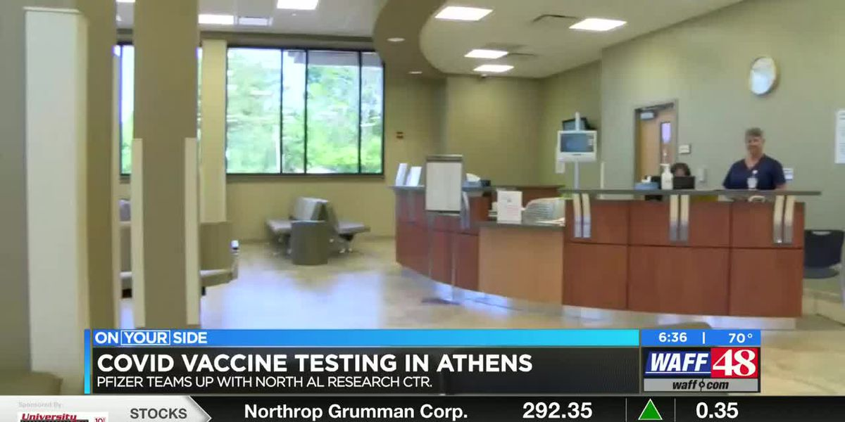 COVID vaccine testing in Athens