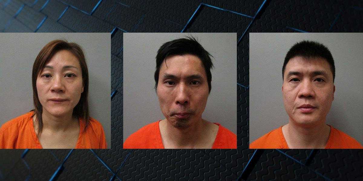 Three arrested on drug-trafficking charges