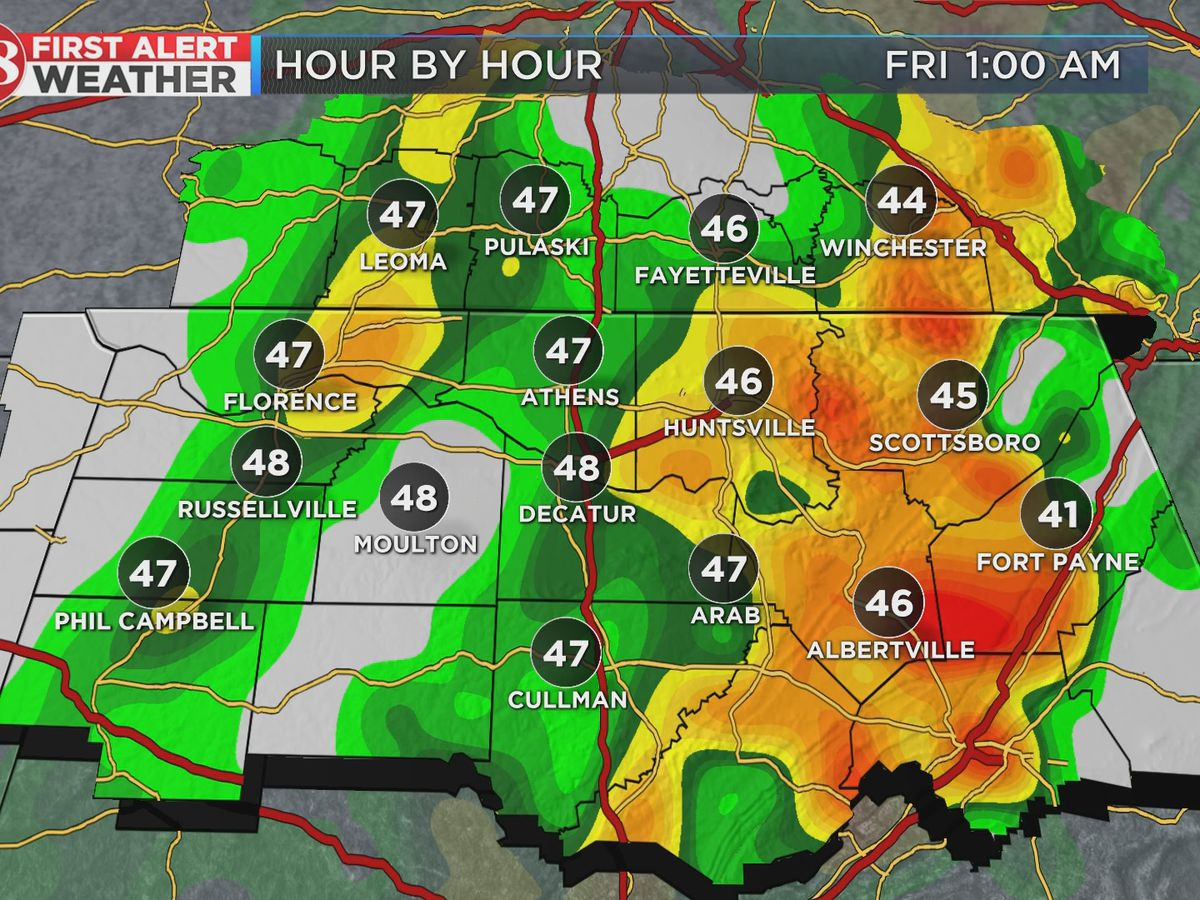 Rain continuing through Friday morning; dry weekend ahead