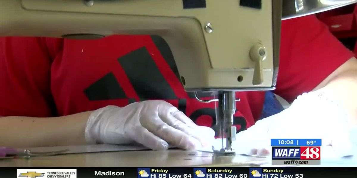 Huntsville flag company starts making masks to help with shortage