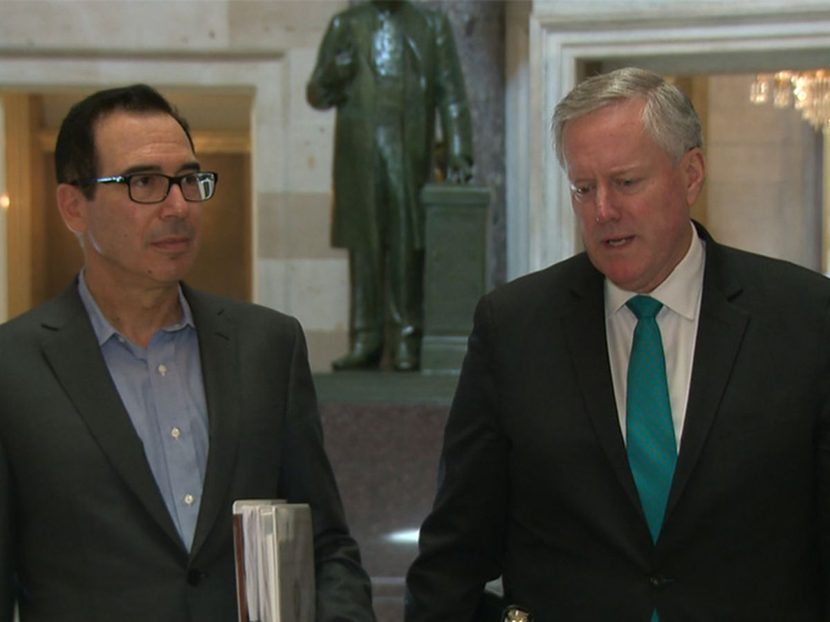 Progress slow on virus relief bill as negotiations continue