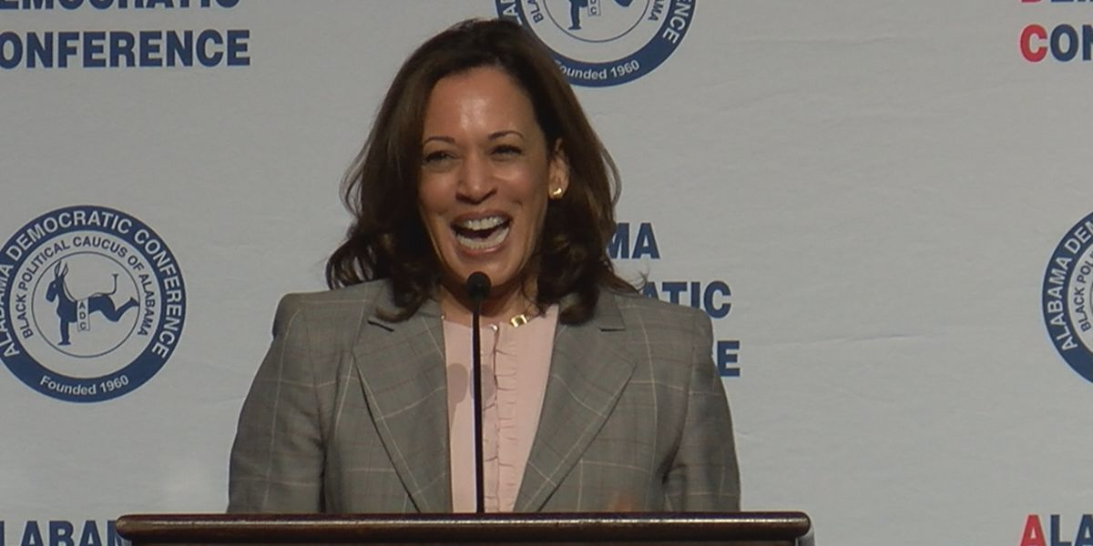 Democratic presidential candidate Kamala Harris visits Montgomery