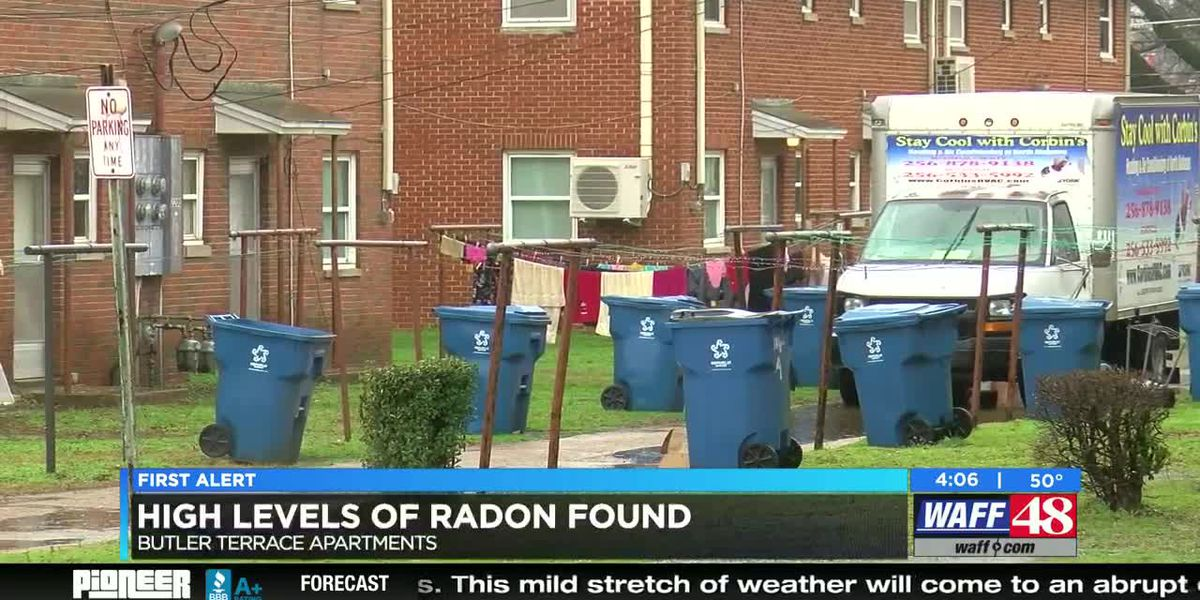 VIDEO: High levels of radon found in Huntsville Housing Authority apartment complex