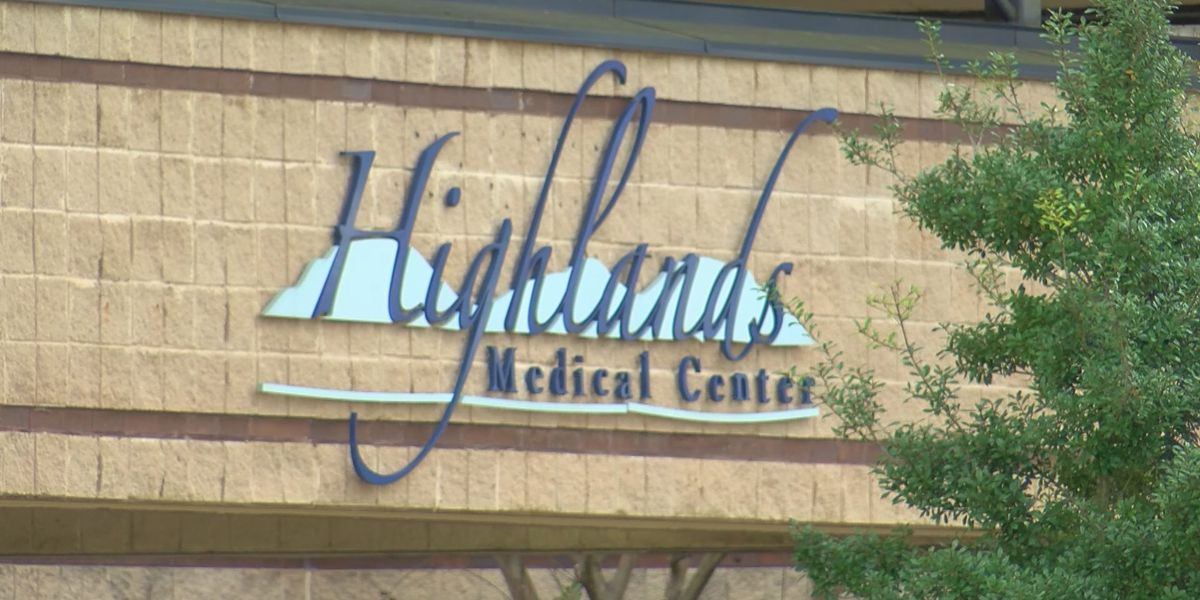 Highlands Medical Center confirms positive COVID-19 cases