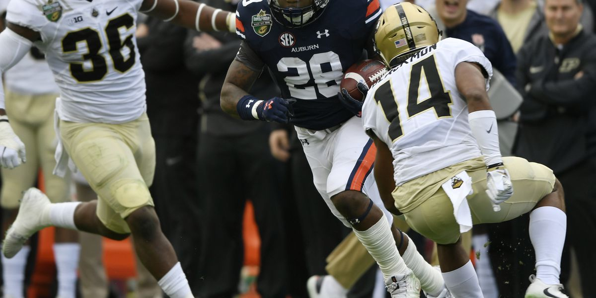 Auburn throttles Purdue to win Music City Bowl