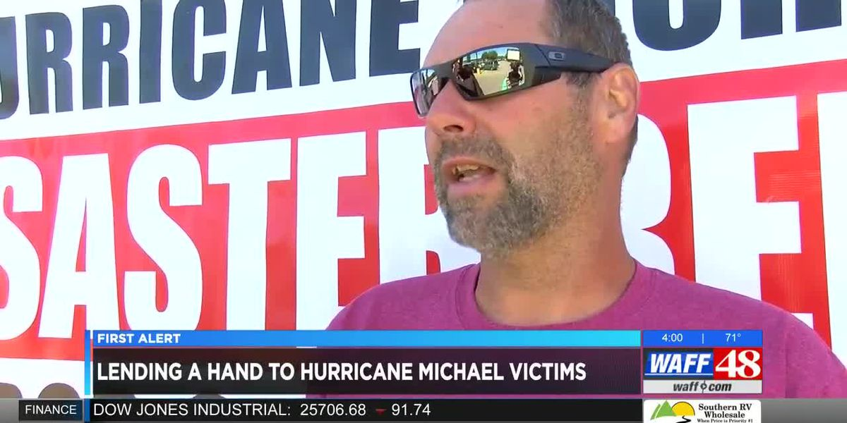 Hurricane Michael relief drive in the Shoals