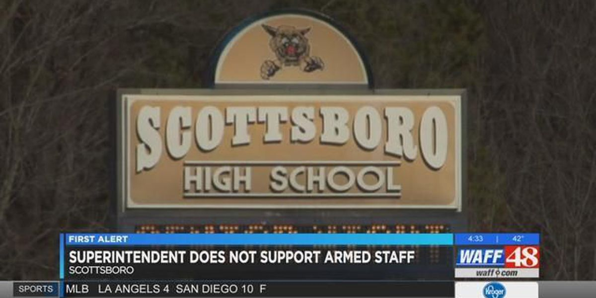 Scottsboro superintendent does not support armed staff