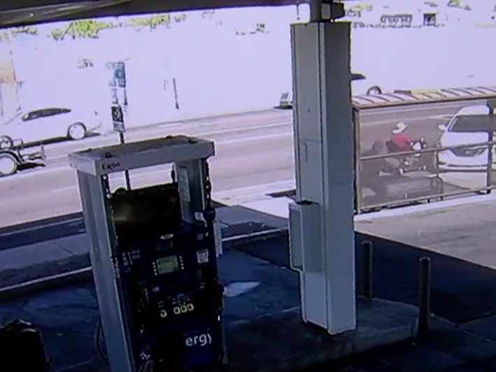 Watch: Careening car almost crashes into woman in wheelchair, flattens bus stop
