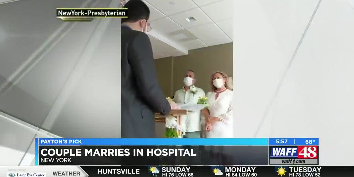 Payton's Pick: Couple marries in hospital