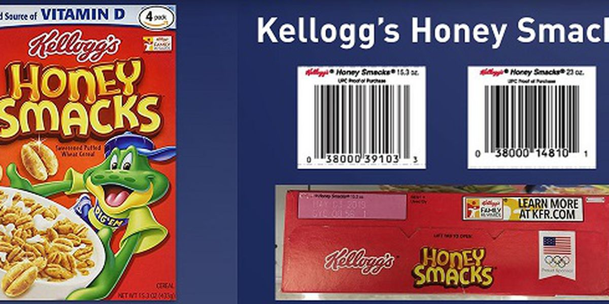 CDC issues reminder to not eat Honey Smacks after more reported illnesses
