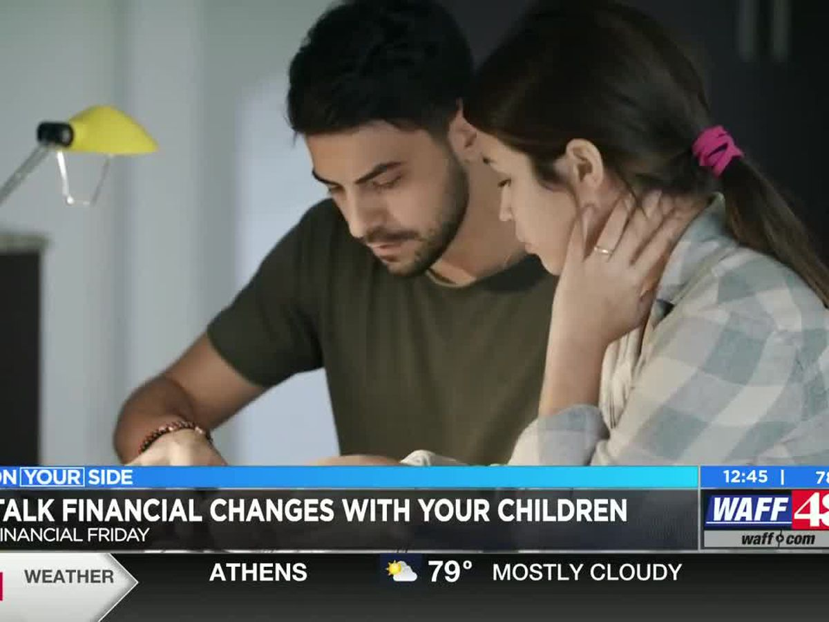 How to discuss financial changes with your children