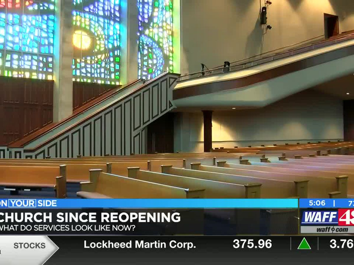 Most Northern Alabama churches have reopened: What do they look like now?