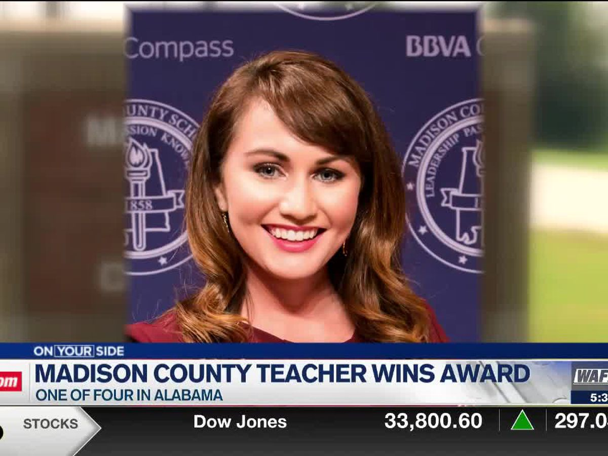 Sparkman instructional coach wins statewide award to help further graduate education
