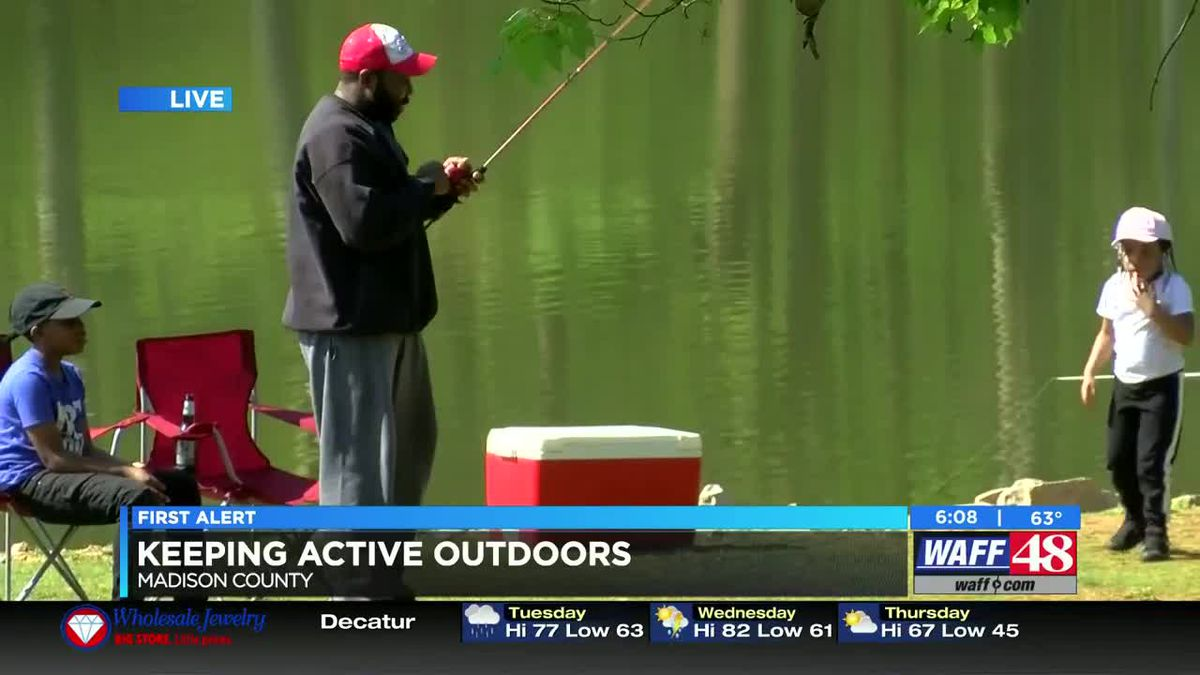 Staying active outdoors during the coronavirus pandemic