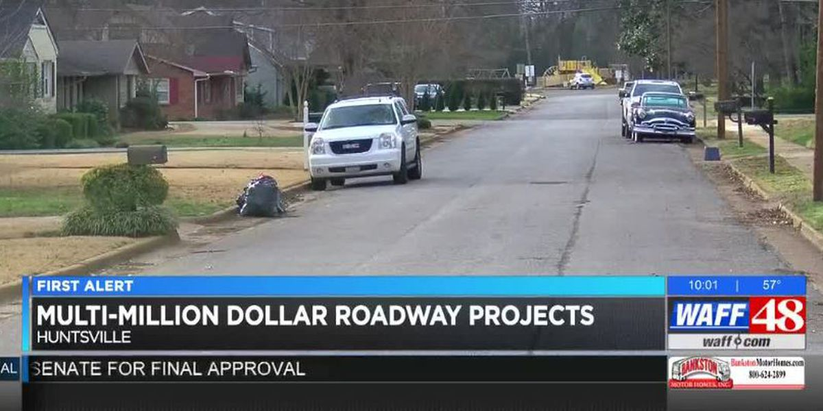 $600M invested into roadway projects in Huntsville