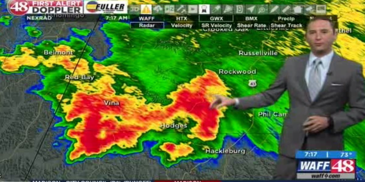 Flash flooding concerns in Franklin County
