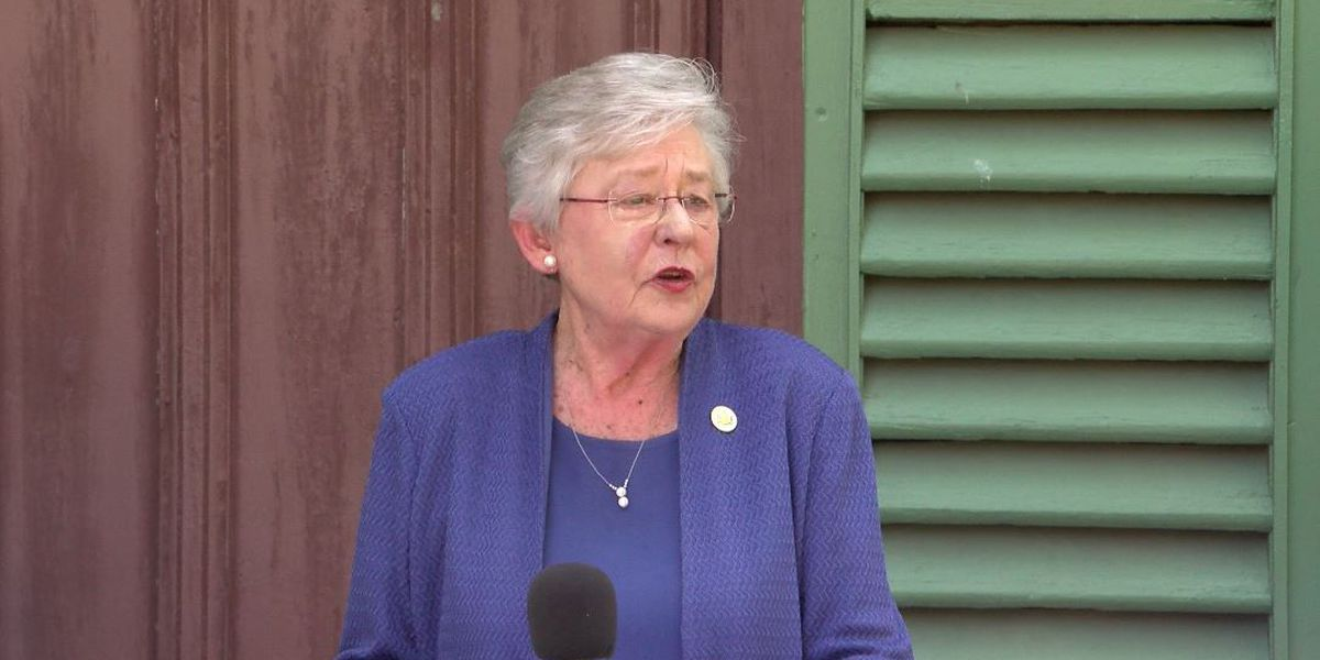 Governor Ivey celebrating infrastructure work in Colbert County