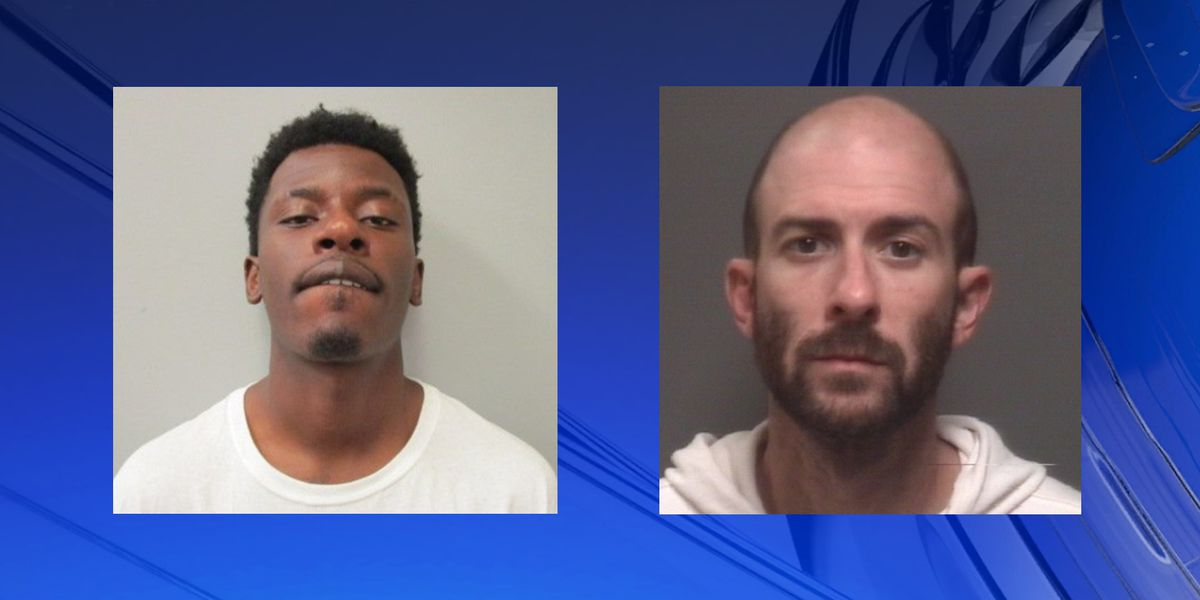 Two Huntsville men are charged with robbing multiple businesses in north Alabama
