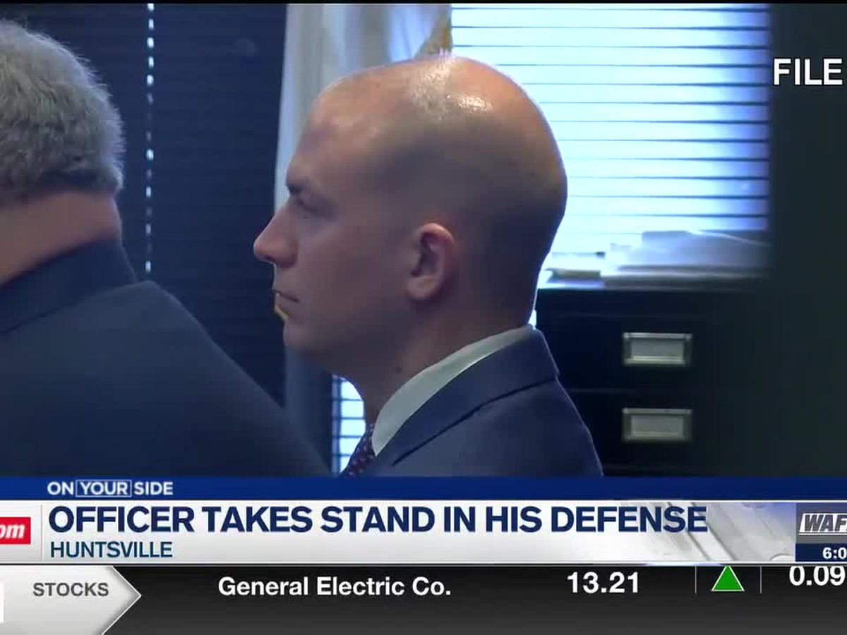 Day 3: Former Huntsville police officer takes stand in his own murder trial