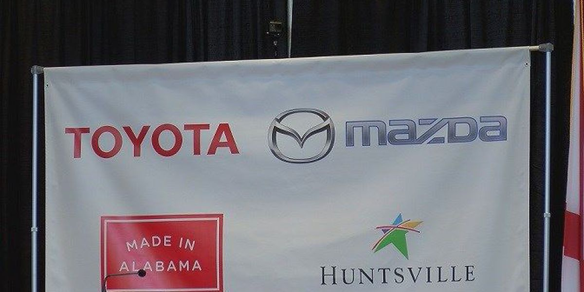Gov. Ivey signs bill as part of Toyota-Mazda incentives package