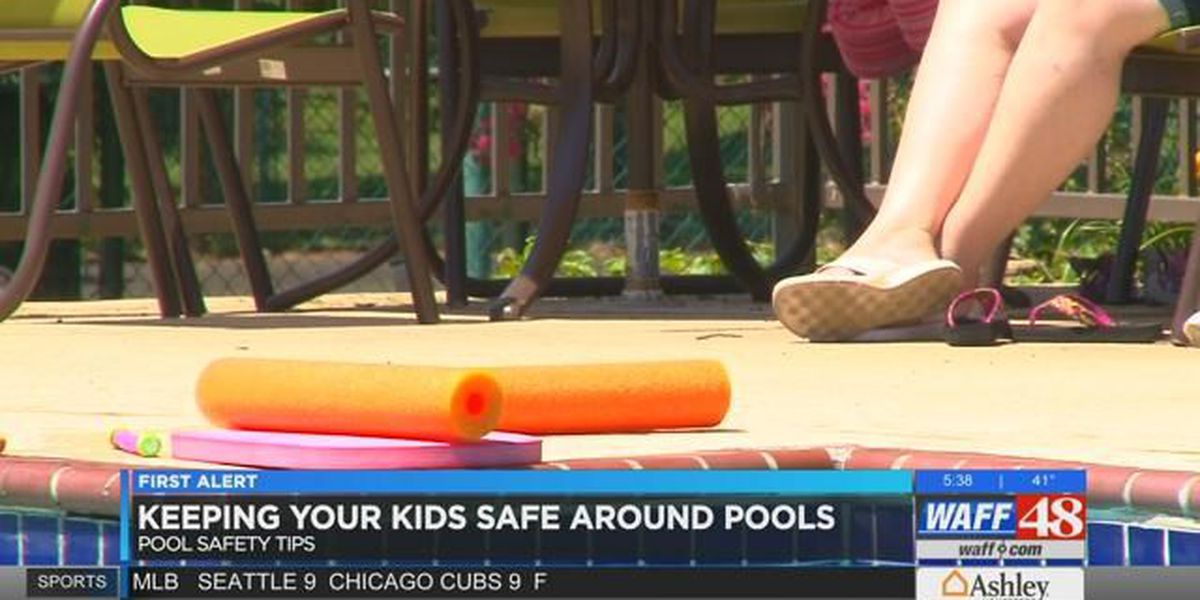 Keeping your kids safe around pools