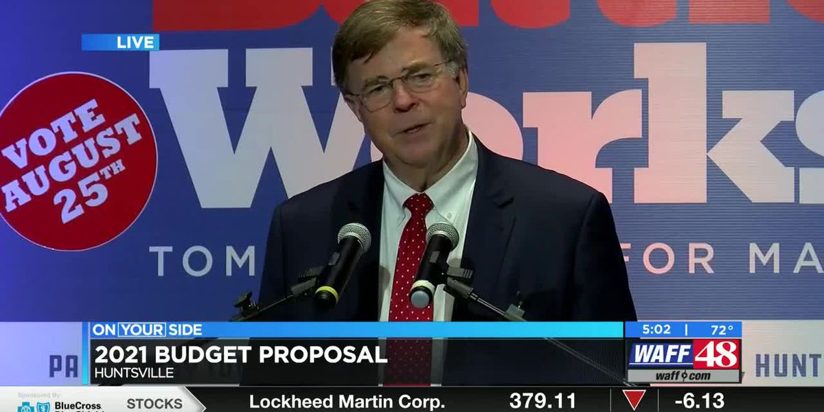 Huntsville Mayor Tommy Battle releases 2021 proposed budget