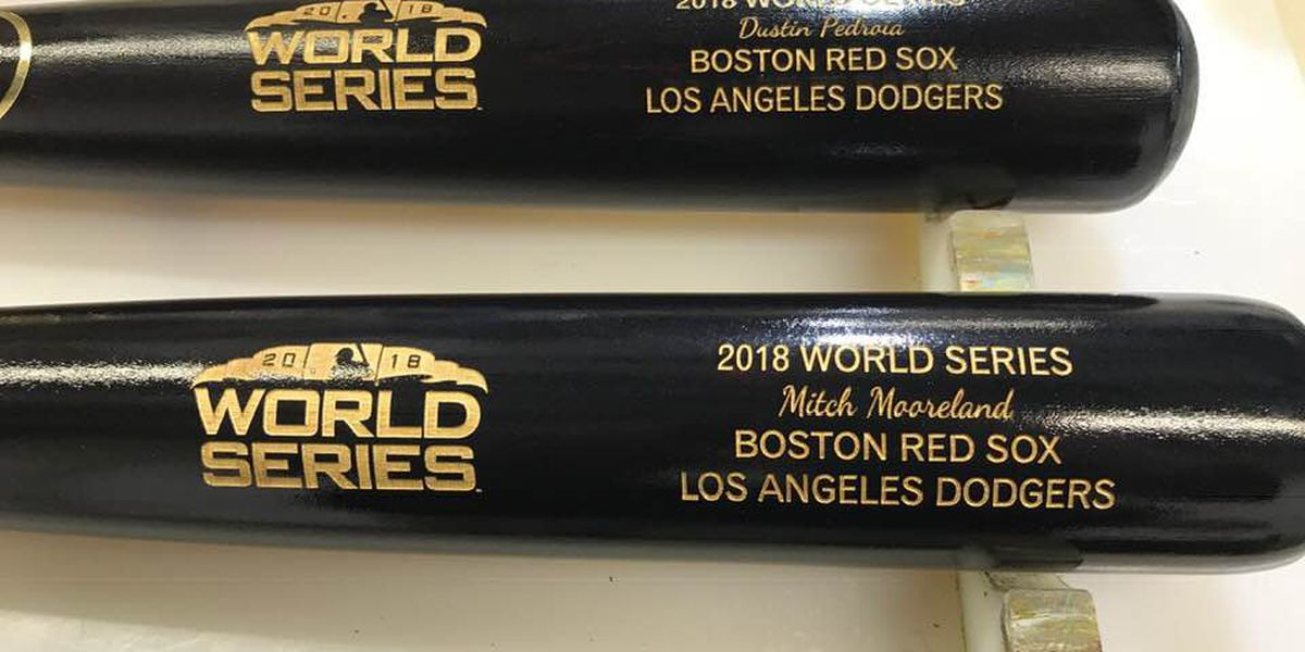 Louisville Slugger Museum & Factory make bats for World Series