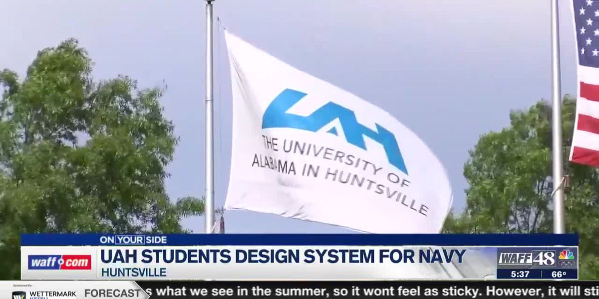 UAH students work on submersible storage system for possible Navy use