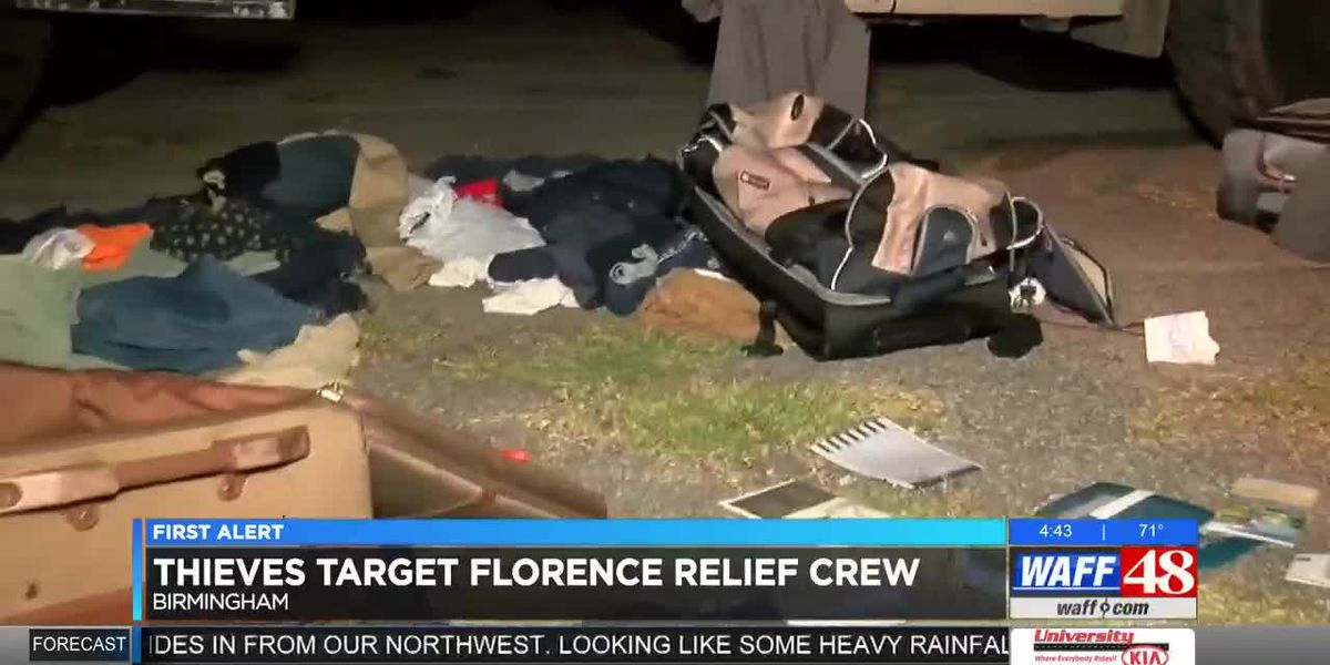 Thieves Target Florence Relief Crew