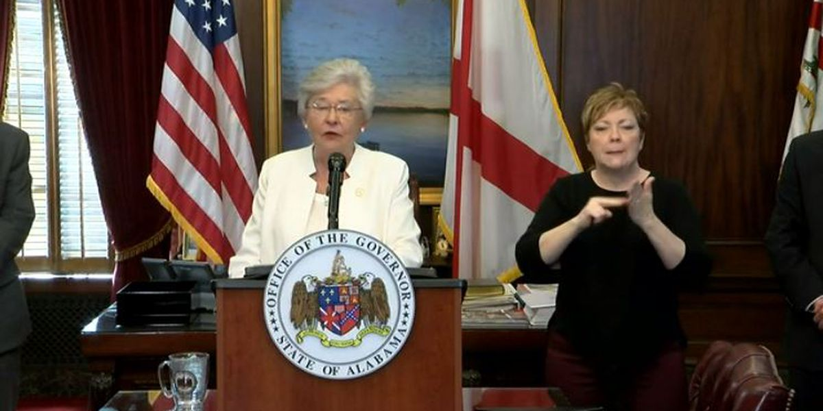 Tips for social distancing from Gov. Kay Ivey