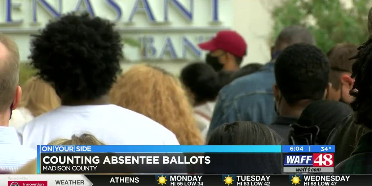 Madison County absentee election manager's staff tripled to count record-breaking ballots