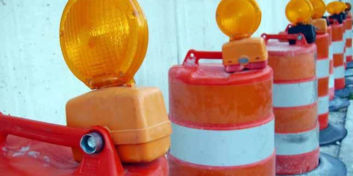 Outside lane of Whitesburg Drive closing at 3 p.m. Thursday