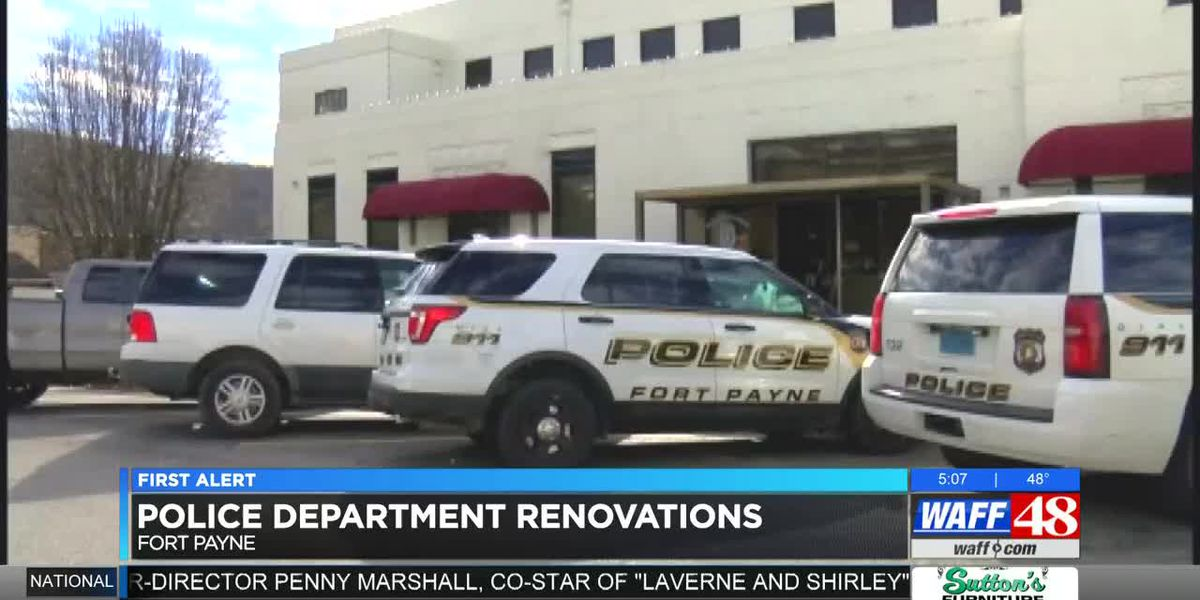 Renovations begin soon for Fort Payne Police Department