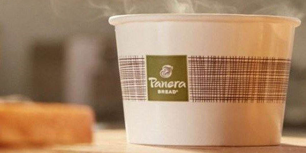 Panera offering free soup with every delivery today