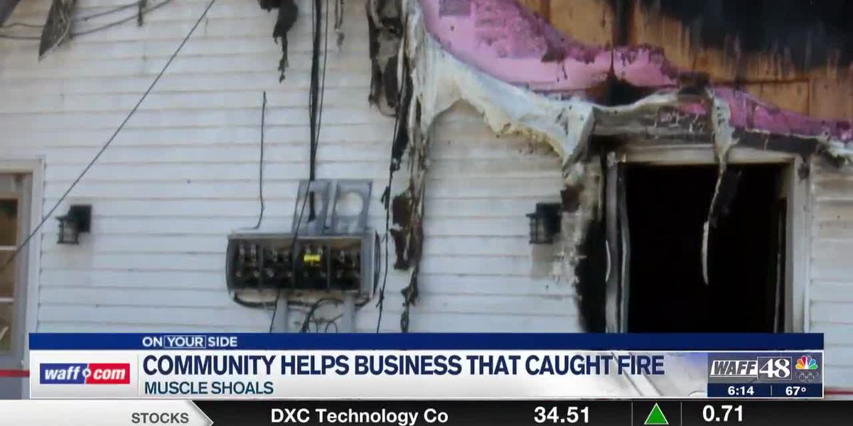 Shoetopia manager thankful for Muscle Shoals community after her store burned in a fire