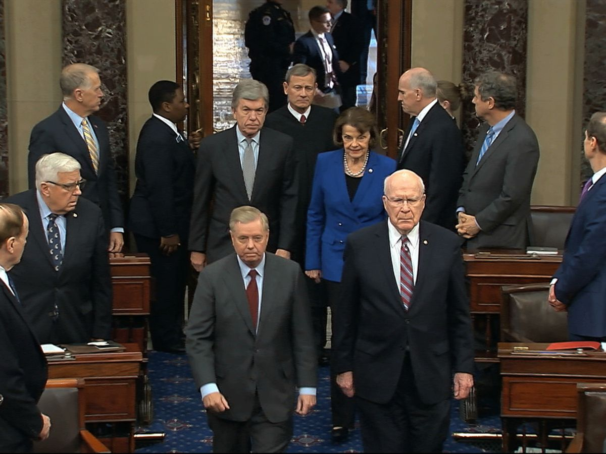 No escape: Senators to be quiet, unplugged for Trump trial