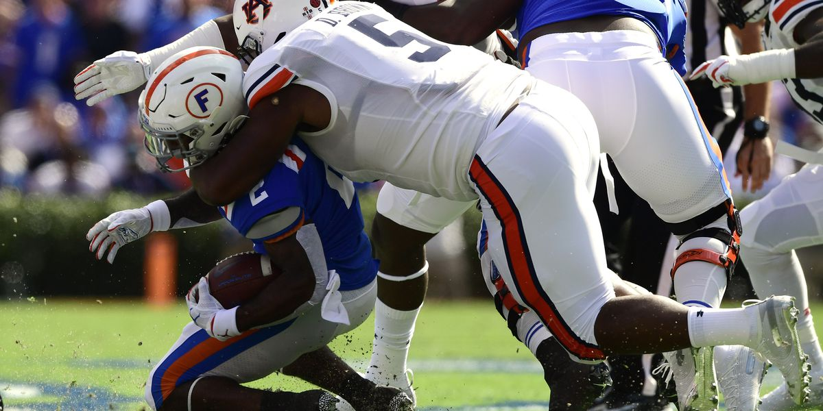 No. 7 Auburn suffers first loss of season at No. 10 Florida